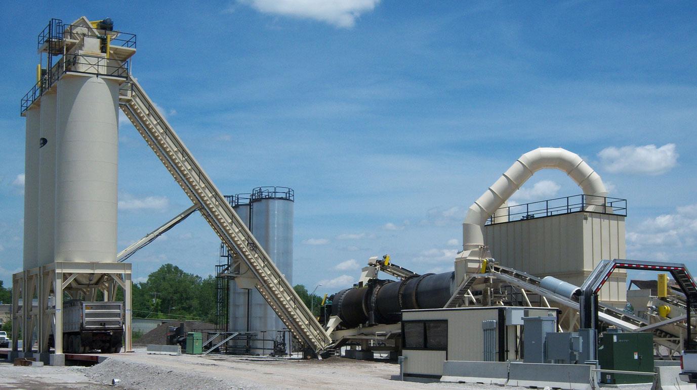 TI148 Tarmac Rotary Thermal Dryers - Asphalt Plant Components